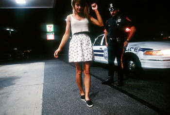 259896 23: A police officer tests an unidentified woman for intoxication June 15, 1995 in Long Island, NY. MADD is an organization that assists victims and relatives of victims involved in drunk driving accidents and develops and maintains public awareness programs at the chapter, state, and national level, involving the community. (Photo by Stephen Ferry/Liaison/Getty)   Original Filename: 1408811.jpg