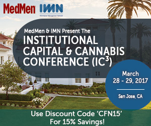 The Institutional Capital & Cannabis Conference