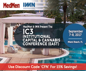The Institutional Capital & Cannabis Conference (IC³)