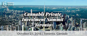 Cannabis Private Investment Summit (CannaBrunch) Toronto